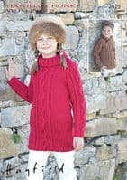 Hayfield Chunky with Wool 100g - 694 Winterberry - CLEARANCE PRICE - £2.25